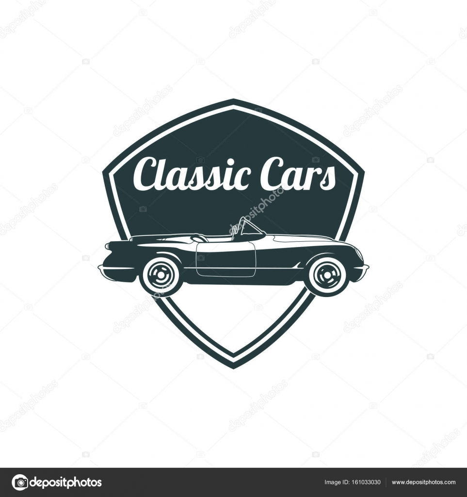 Classic Muscle Car Emblems High Quality Retro Badge And Vintage