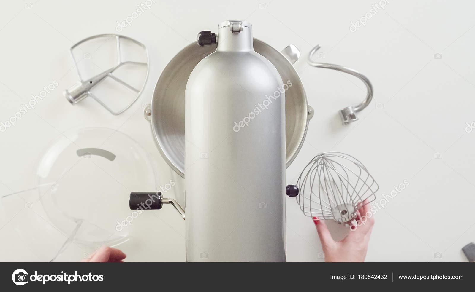 Creazione Robot Cucina Argento Elettrico Cottura — Foto Stock ...