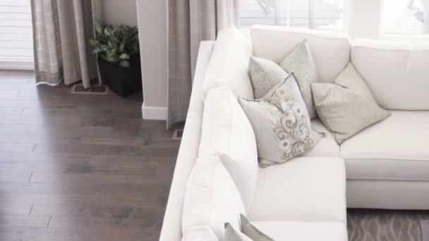 moderne wohnkuche luxus haus stockvideo