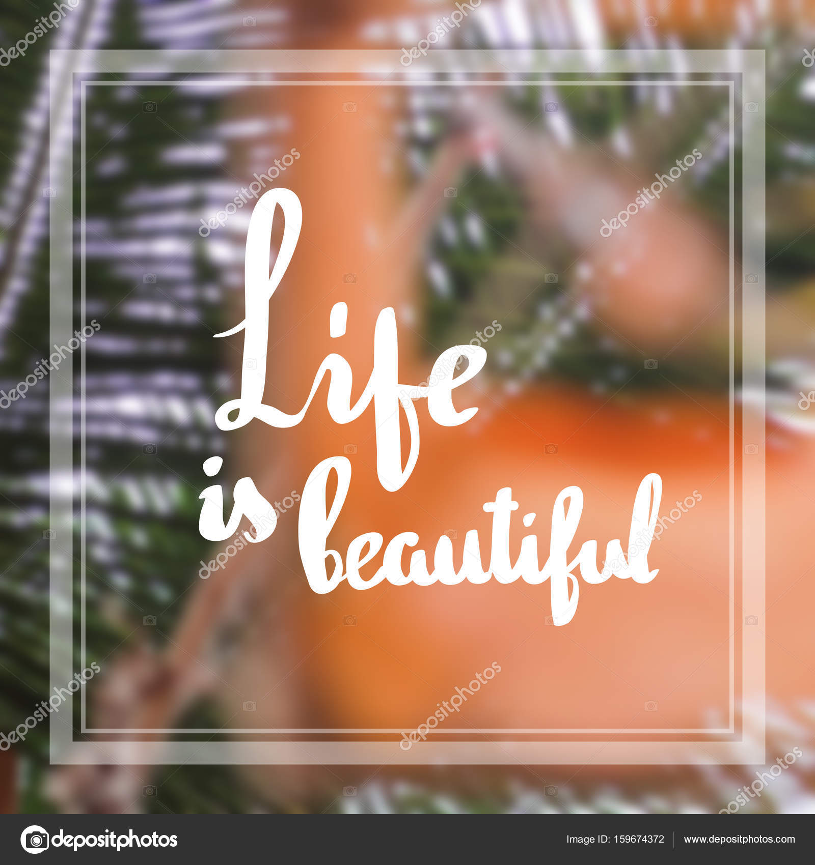 Images Beautiful With Quotes Life Is Beautiful Inspiration And Motivation Quotes Stock Photo C Ivanna Pliskova 159674372