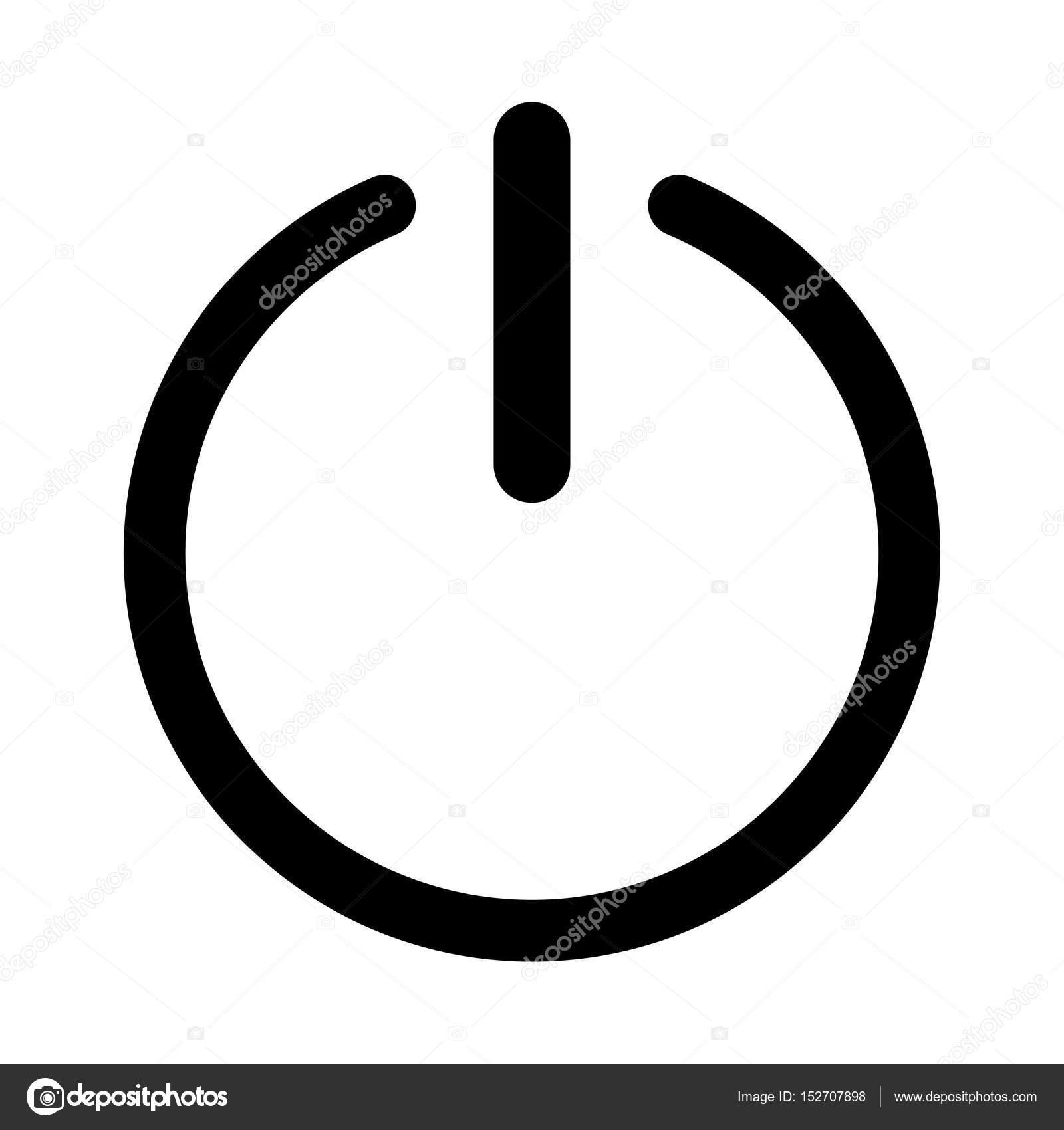 Symbol Symbol aktiviert oder deaktiviert-Symbol — Stockvektor ...