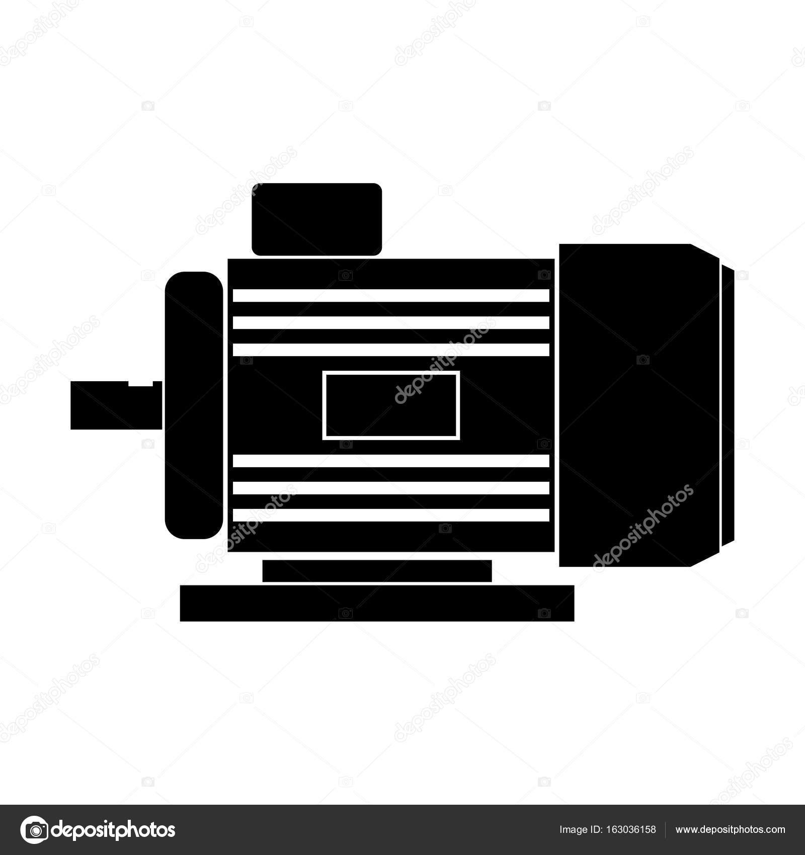Electric Motor Symbol. Simple Magnificent Electric Motor Symbol ...