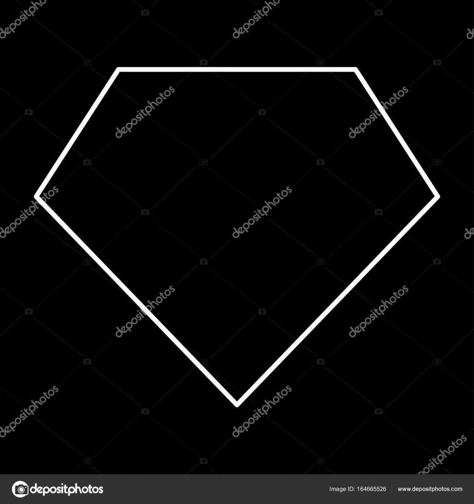 Superhelden-Vorlage-weiße Farbe-Symbol — Stockvektor © seregasss435 ...