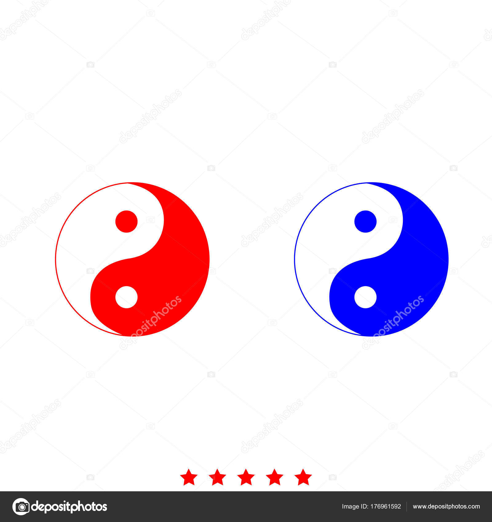 couleur yin yang