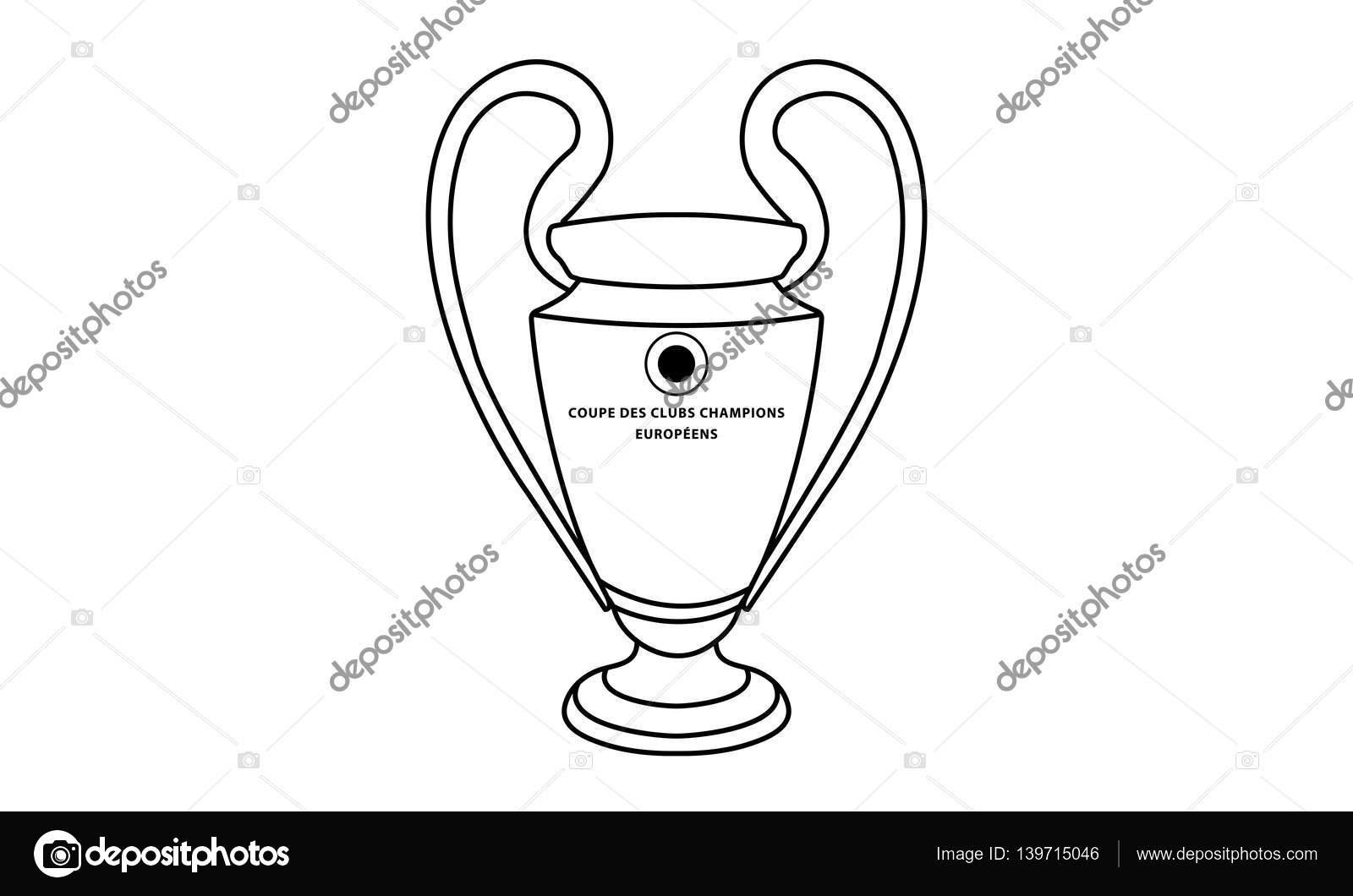 Dibujos Para Colorear Copas Futbol Copa Del Mundo De