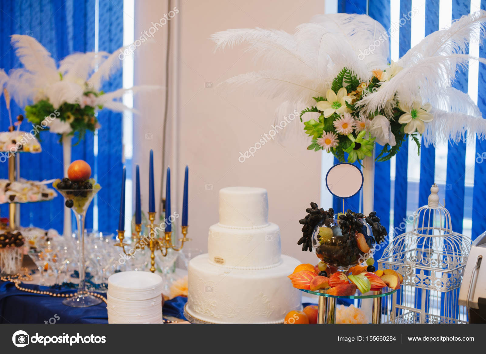 Dessert Buffet Table Ideas Buffet Table With Sweets And Nice Decor Stock Photo C Marienalien 155660284