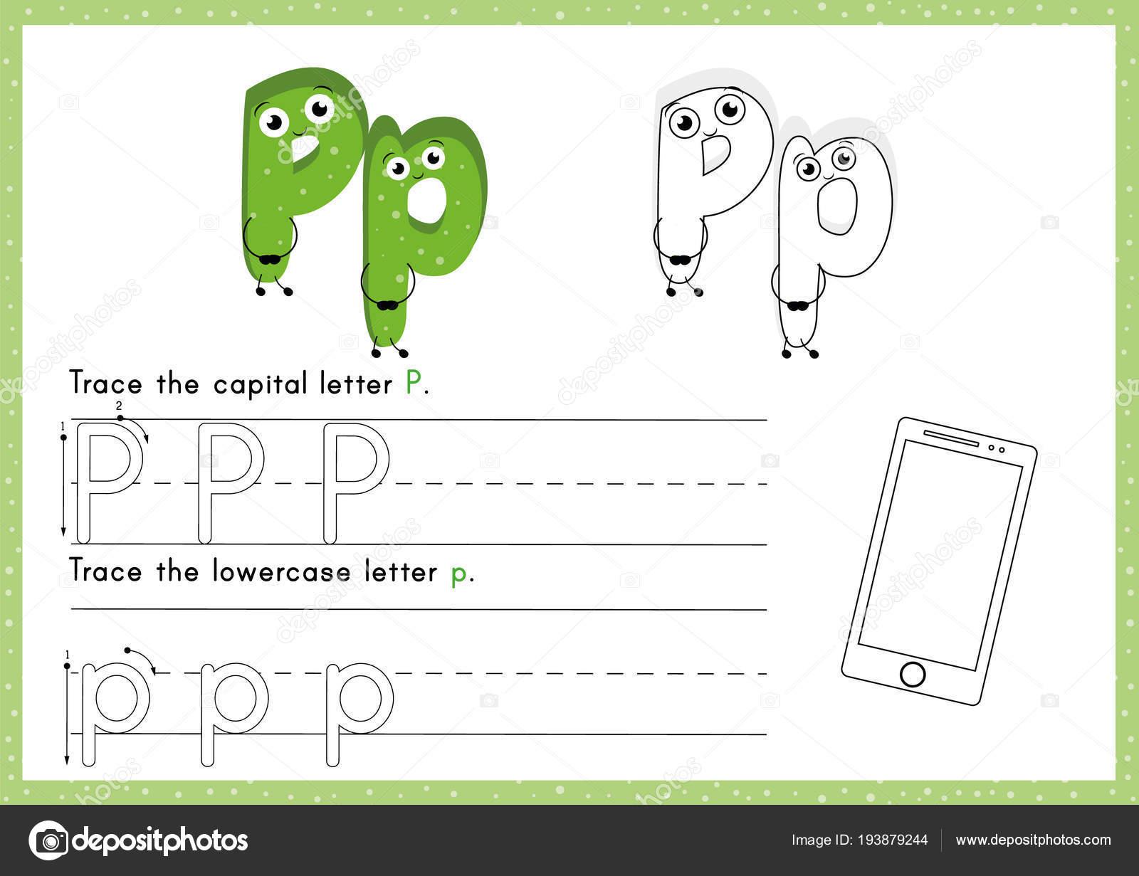 Excepcional Hojas De Trabajo Para Colorear Alfabeto Galería ...