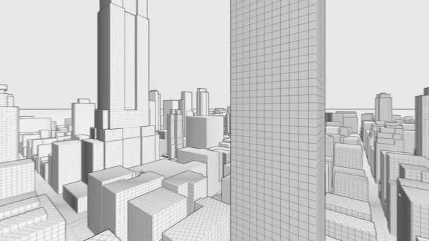 Concepto rascacielos blueprint vdeo de stock dariostudios concepto rascacielos blueprint vdeo de stock malvernweather Images