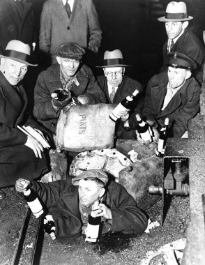 Prohibition times in America in the 30s