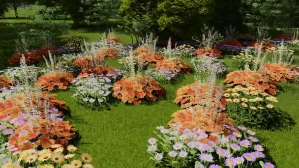 Wildblumen sprießen im Sommer auf dem Feld