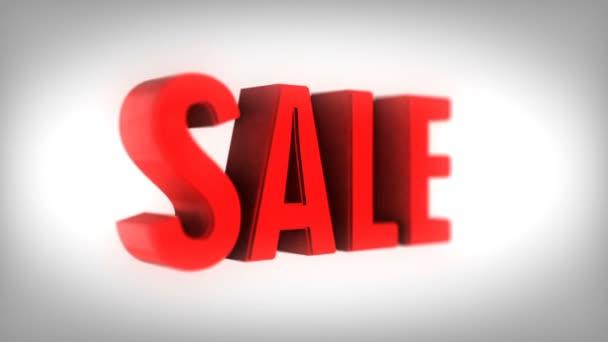 3D vykreslení slovo prodej