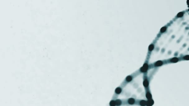 DNA Strand slow motion - 3D Animation loop background