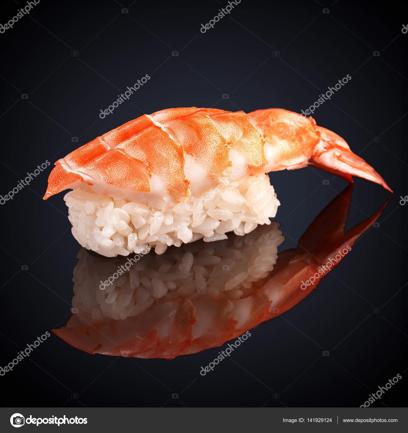 Ebi Sushi With Shrimp Stock Photo Radionphoto 141929124