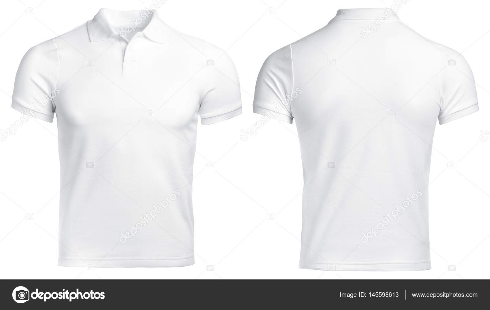 the latest 96a79 0fe20 Weißes Polo-Shirt, Kleidung — Stockfoto © Ra33 #145598613