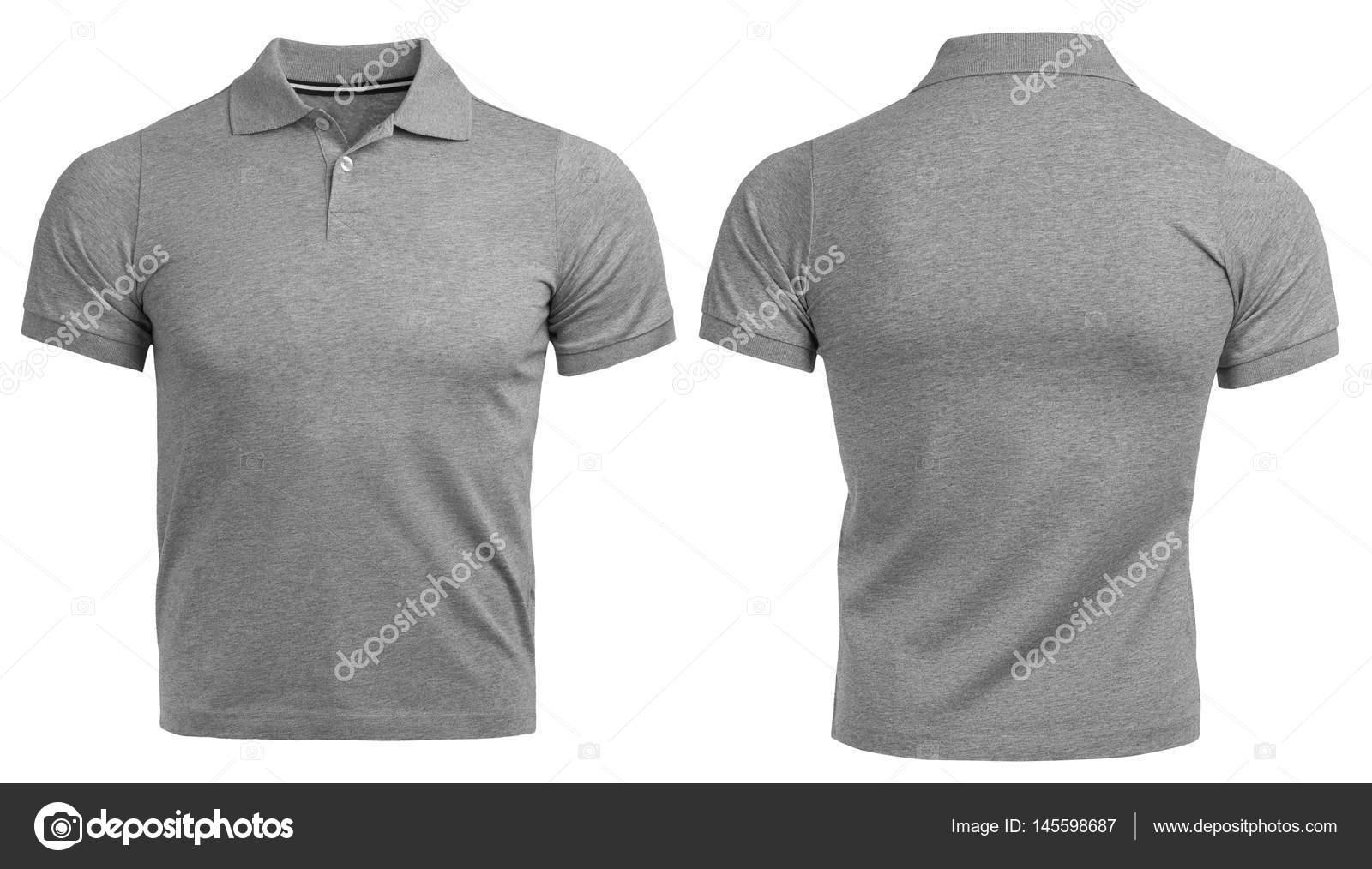 Camiseta Polo gris 098ab0c0b56aa
