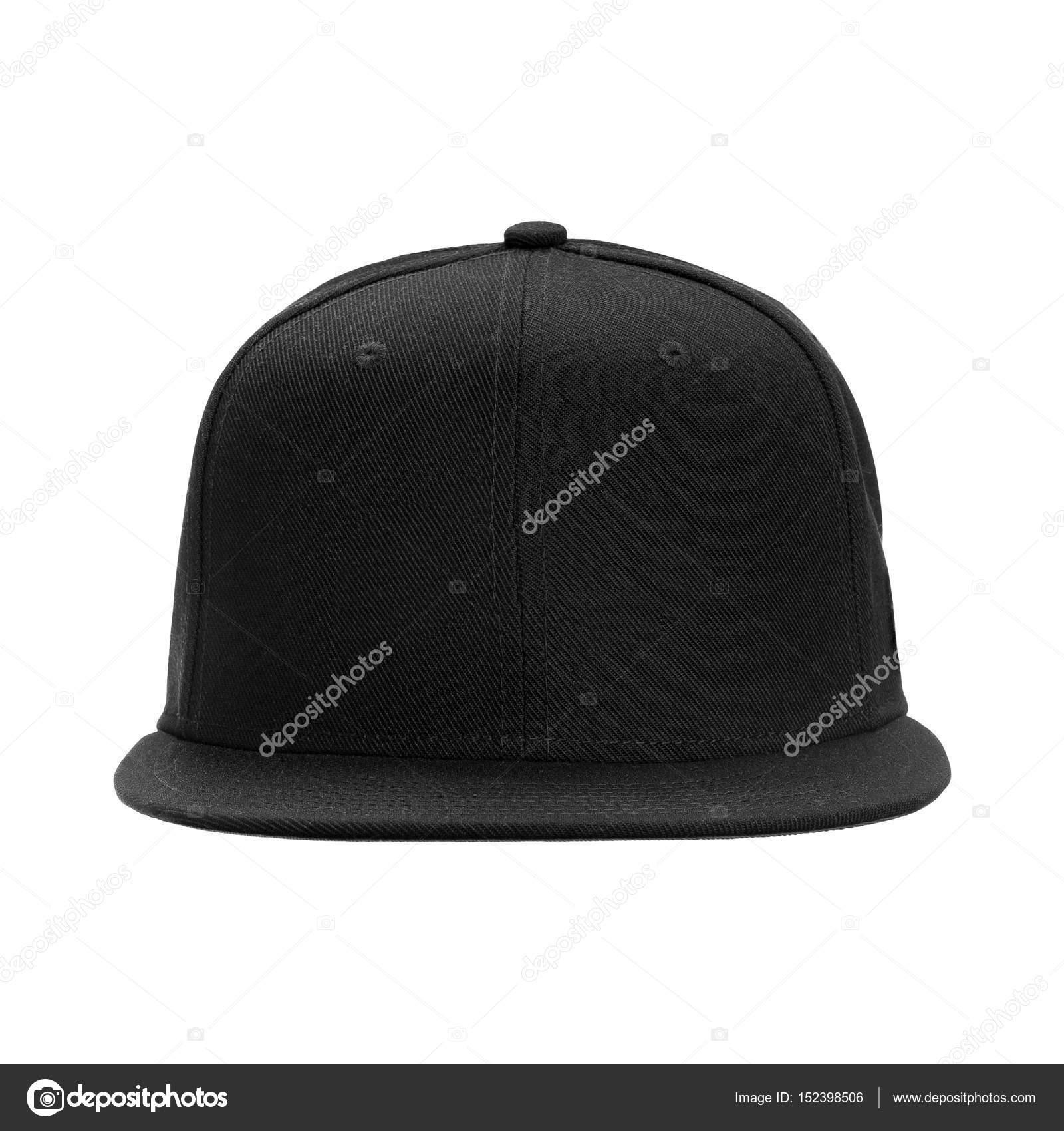 Frente de gorra negra de béisbol 20bf8881500