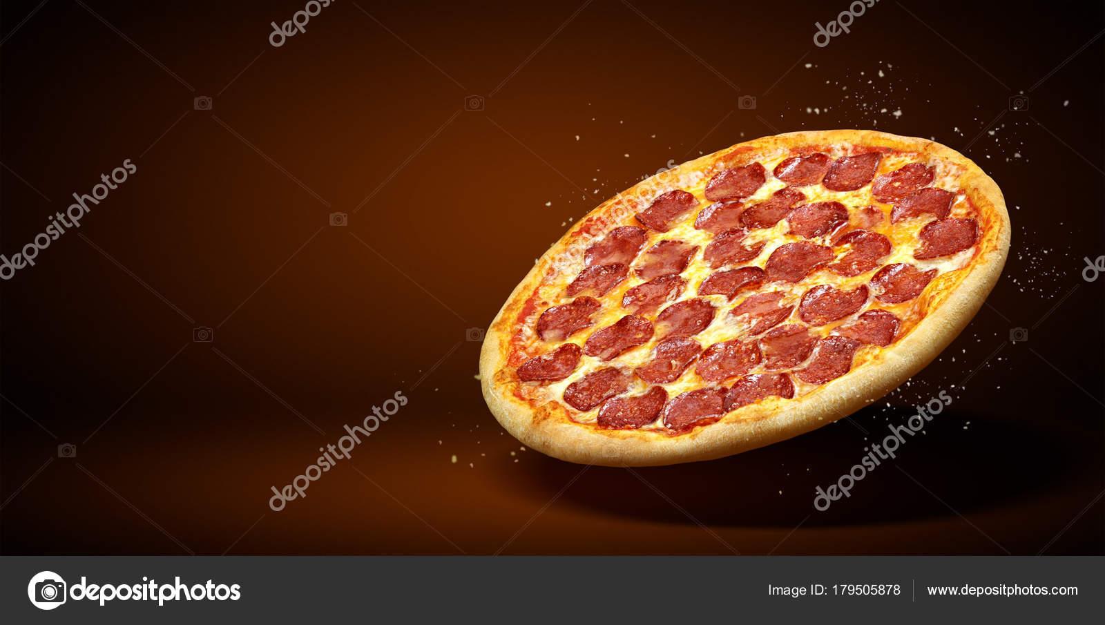 Concepto promocional flyer y cartel para restaurantes o pizzerías ...