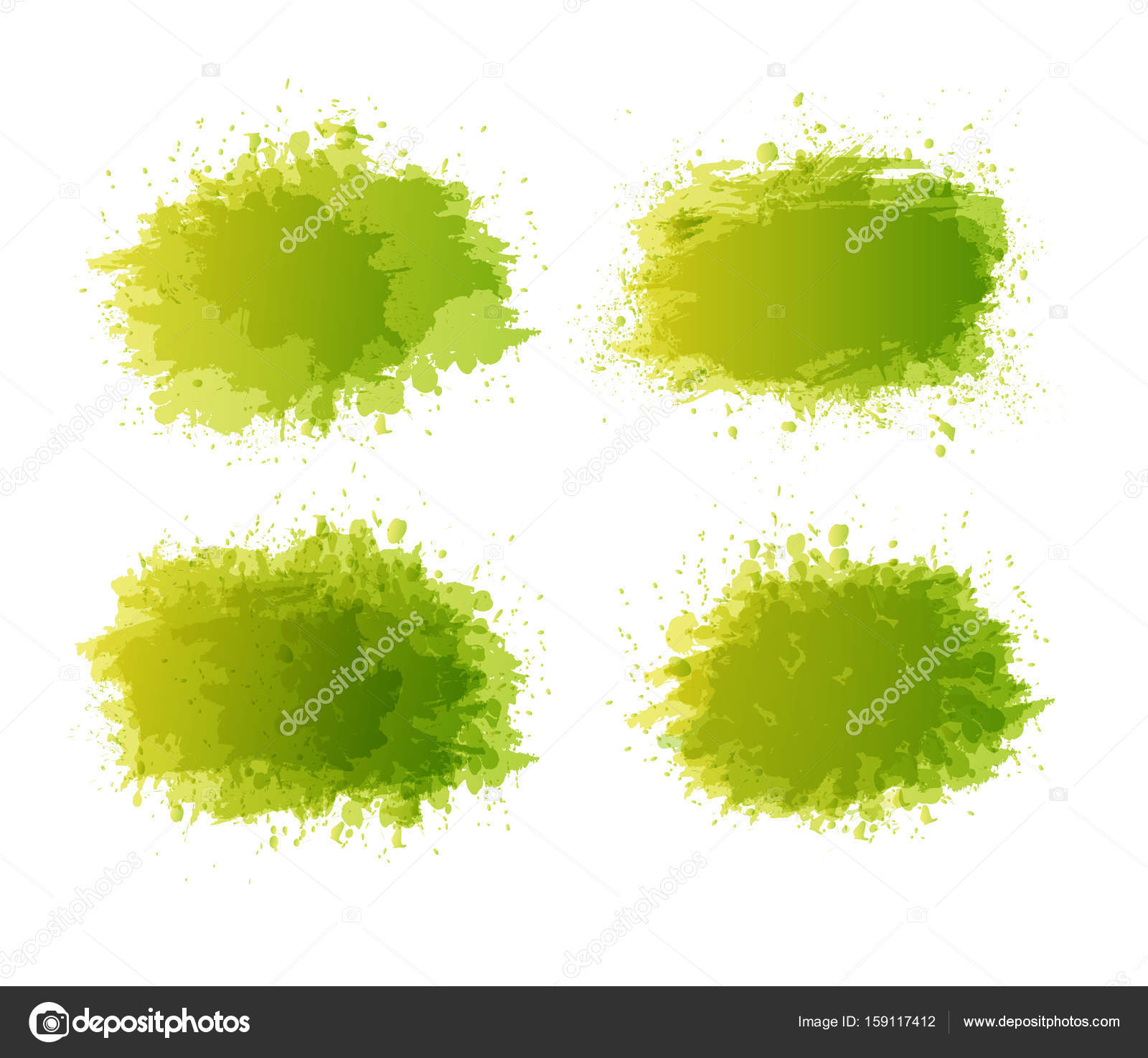 Vector abstract background with big splash  Grunge Vector