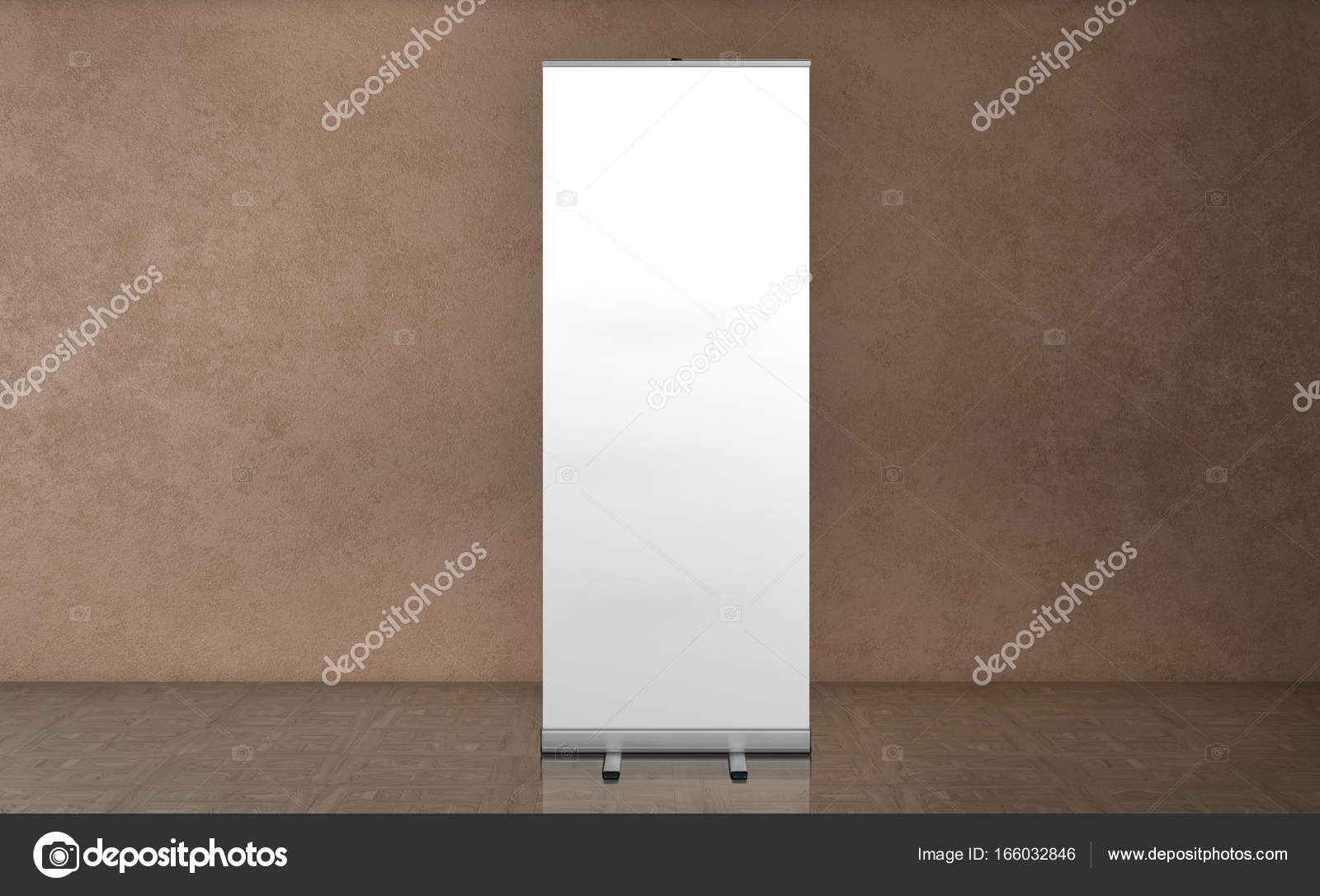 Exhibition Stand Roll Up : Roll up banner stand blank template mockup exhibition stand roll