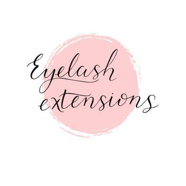 Eyelash extensions logo