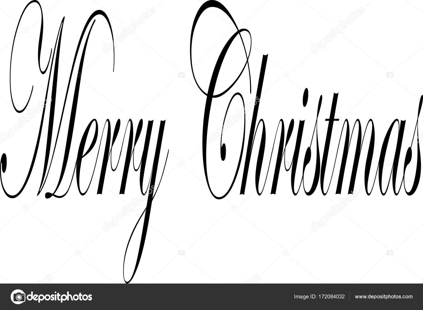 Frohe Weihnachten Englisch.Frohe Weihnachten Text Zeichen Abbildung Geschrieben Auf Englisch