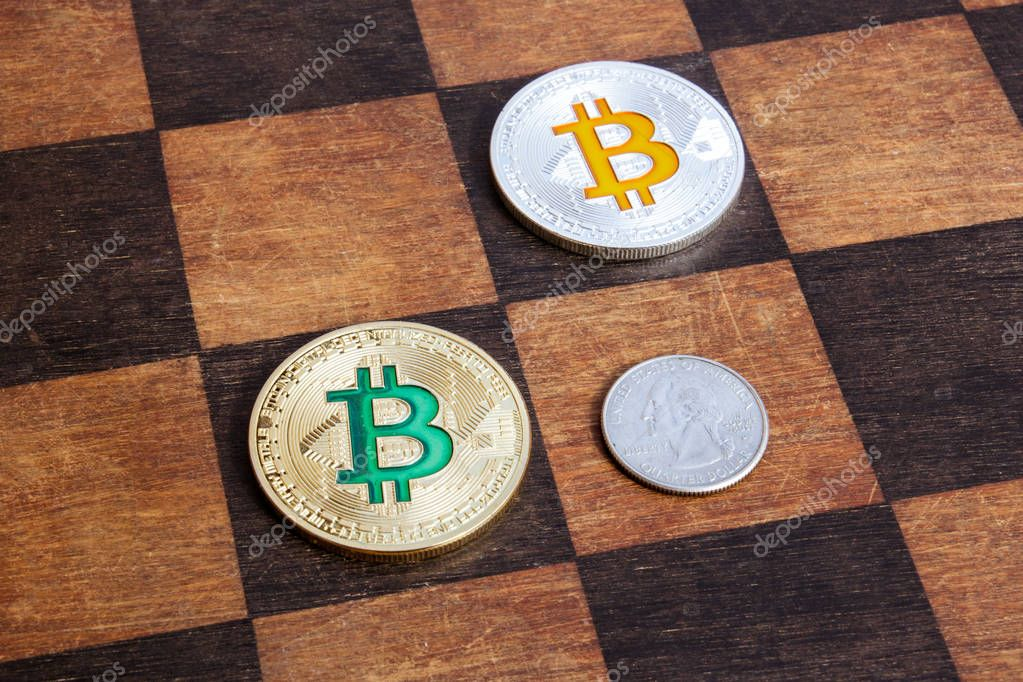 Bitcoins in a chess game win dollars