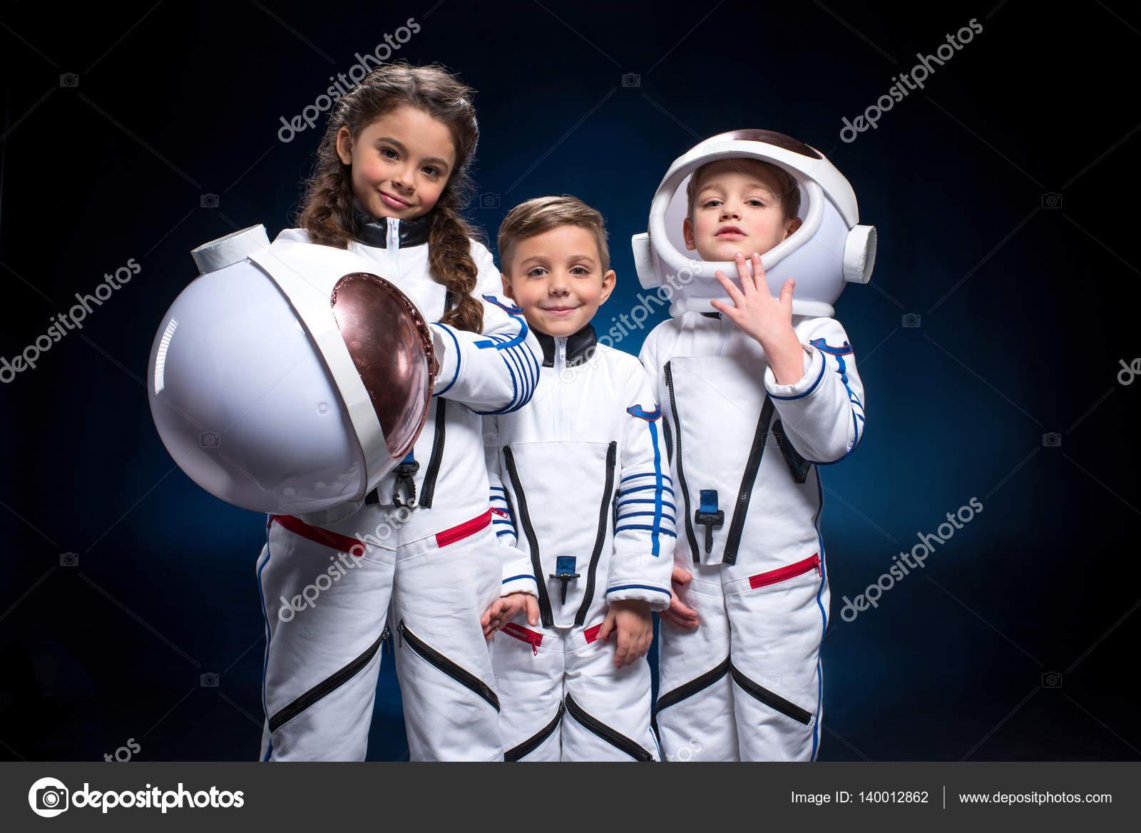 Kids in space suits — Stock Photo © NatashaFedorova #140012862