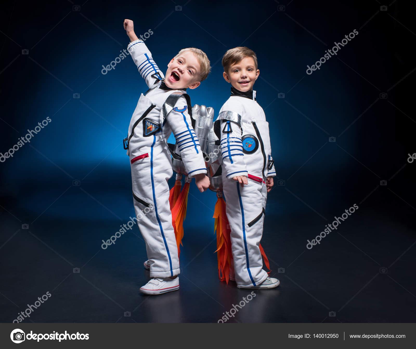 Kids in space suits — Stock Photo © NatashaFedorova #140012950