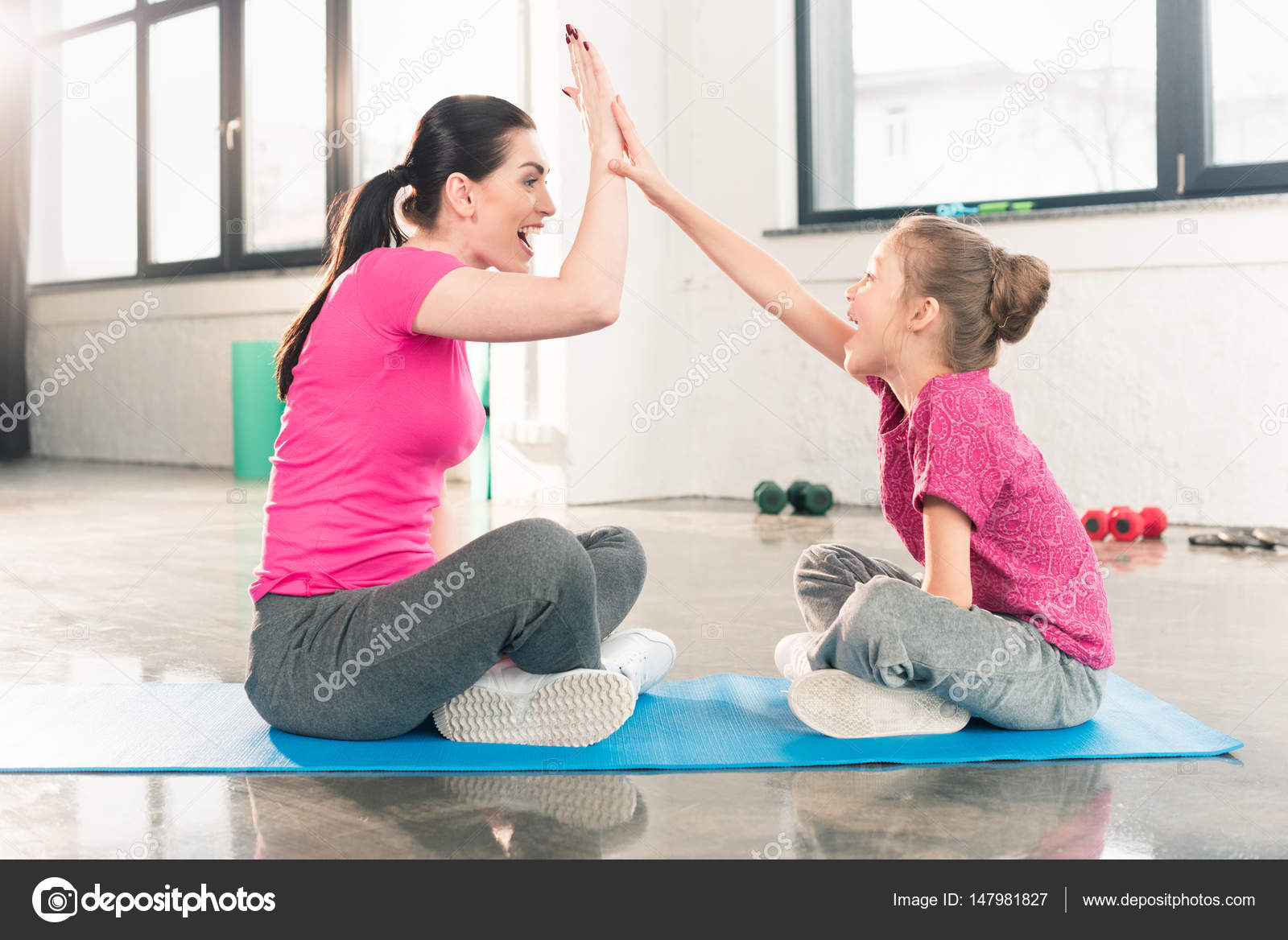mothers and daughters gymnastics