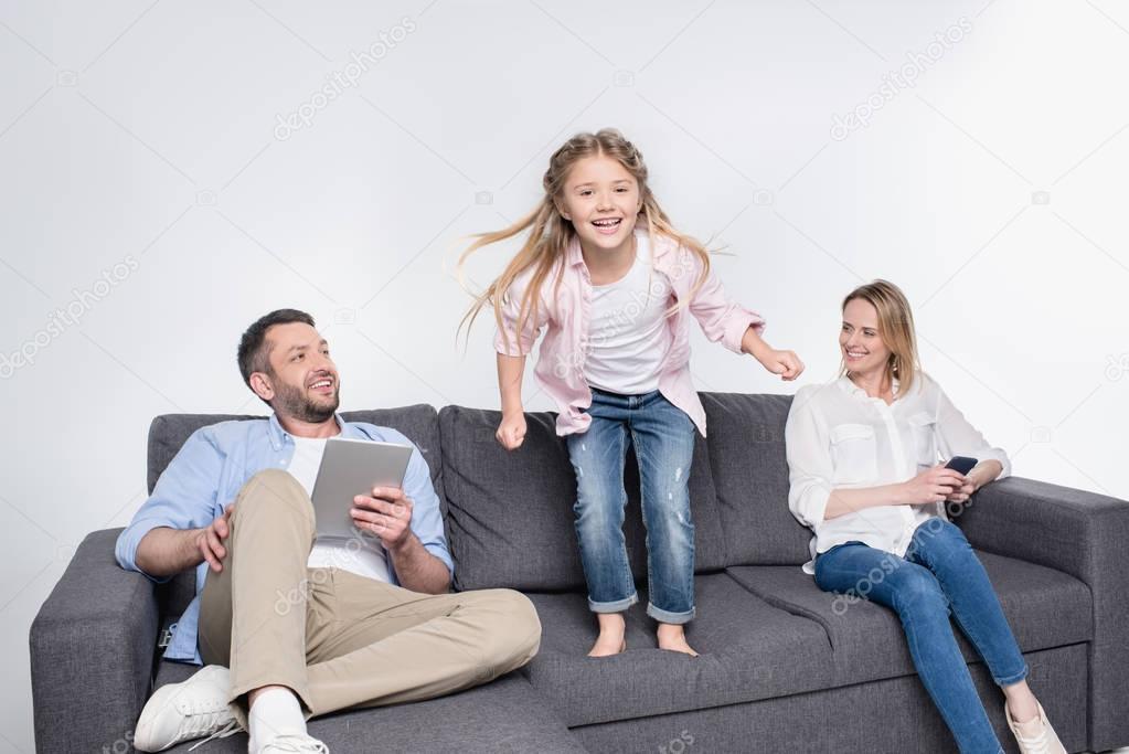 Отец имать учат доч любви