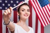 nő a gazdaság amerikai zászló