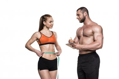 personal trainer and sportswoman