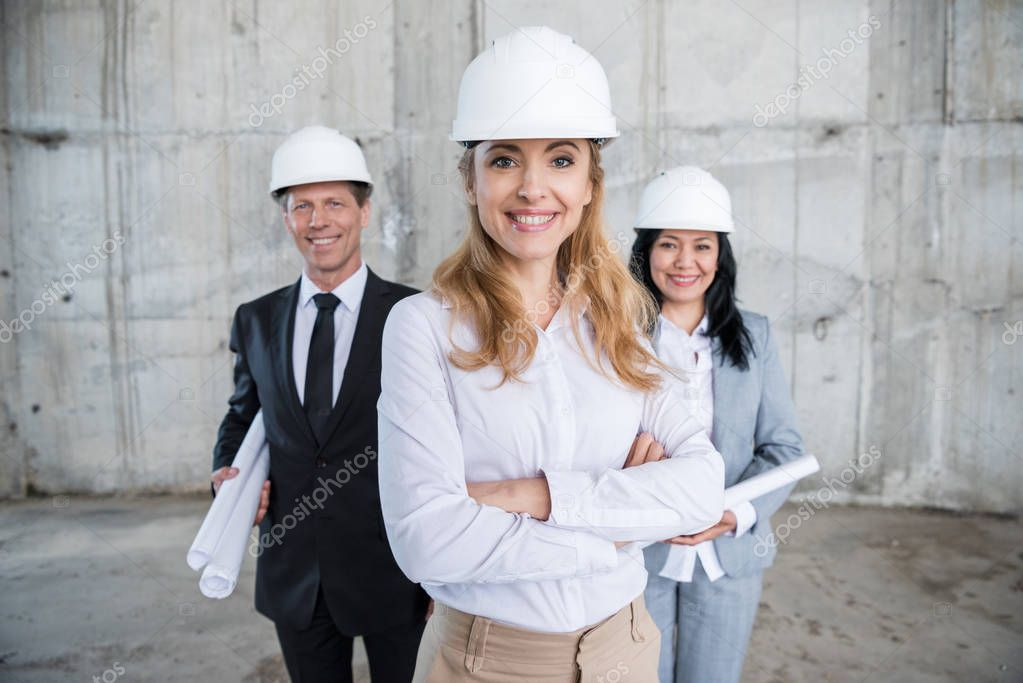 Professional team of architects
