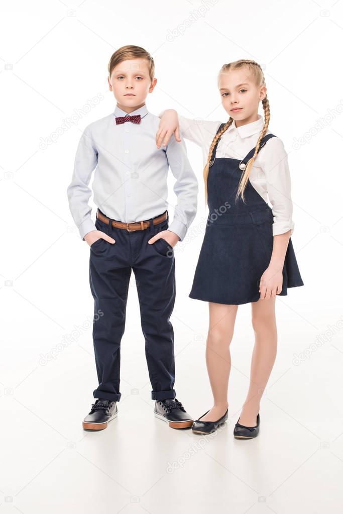 beautiful stylish children