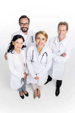 professional team of doctors