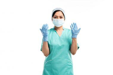 cerrah Tıbbi eldivenler