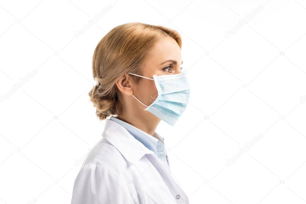 doctor in medical mask