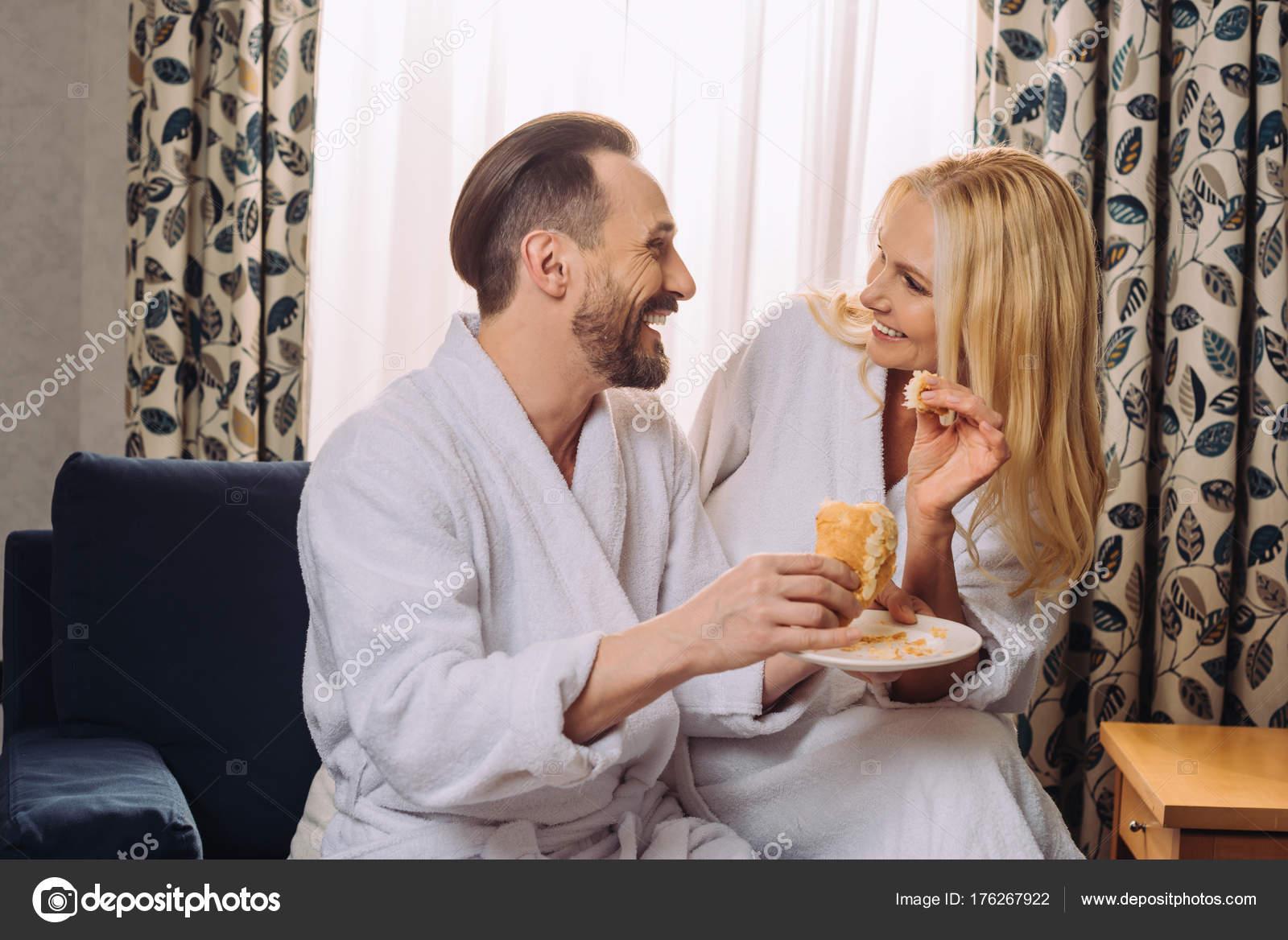 Ein Sehr Glückliches Paar