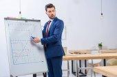 üzletember találkozó, és keres el diagram diagram bemutatja