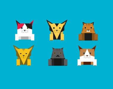 Cute Cube Cat