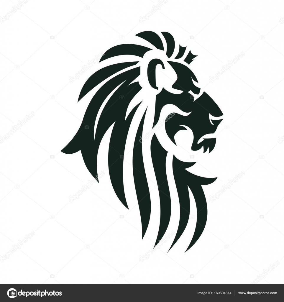 vector lion head image stock vector misima 169604314 rh depositphotos com vector lion king vector lion logo