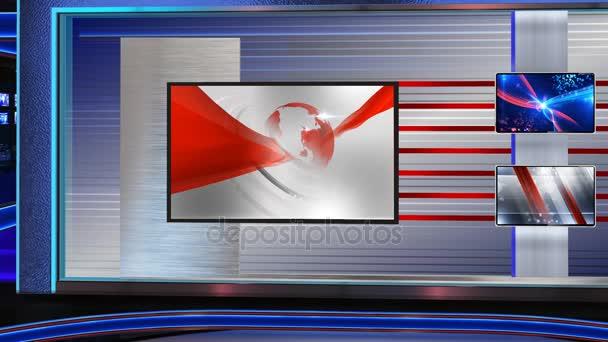 Virtuální zpravodajské studio