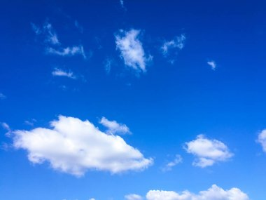 Blue Sky. Clouds. Blue sky with white clouds