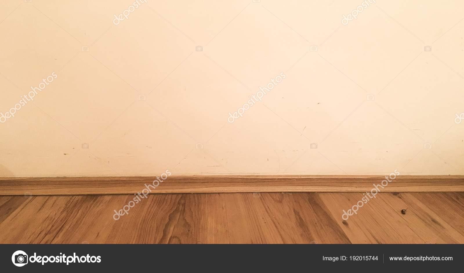 Wandplanken Van Beton : Kamer houten vloer perspectief grunge pastel geschilderd beton
