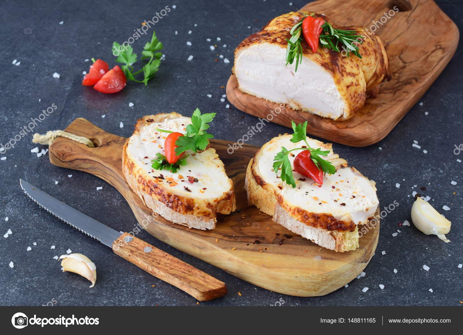 dieta del pollo y el pan