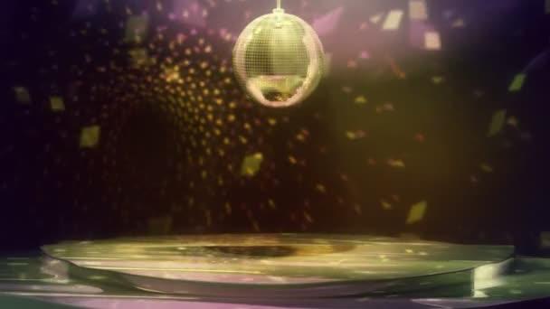 Disco tánc padló hurok