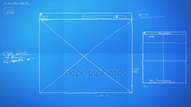 Diseo grfico diseo proceso tiempo lapso blueprint vdeo de animacin malvernweather Images