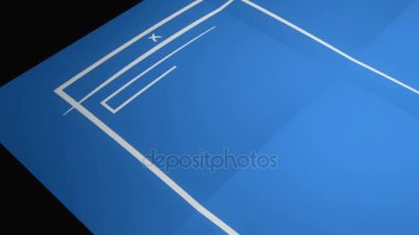 Process diagram sketch animation stock video dtjs 115984052 stylized interface design process blueprint animation malvernweather Gallery