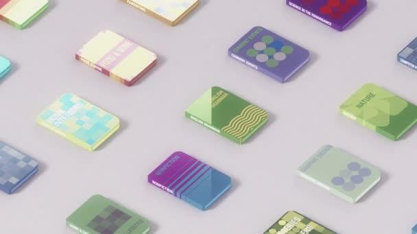 Elektronické knihy bezešvé pozadí smyčky