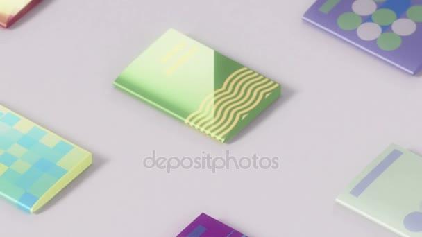 Elektronické publikace koncepce animace